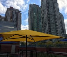 Yellow Playground Shade Umbrella
